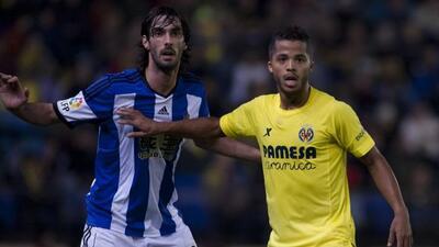 El ariete mexicano anotó un gol para que el Villarreal calificara a cuar...