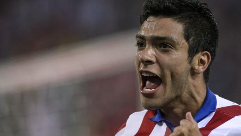 El delantero mexicano se incorporó a las prácticas del Atlético.