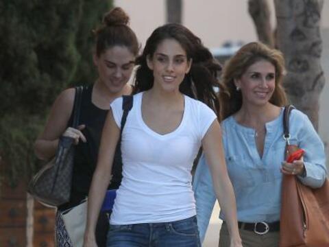 Sandra Echeverría se fue a Beverly Hills con un puñado de...