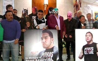 La lucha libre recordó al hijo del 'Perro' Aguayo, a dos años de su muerte