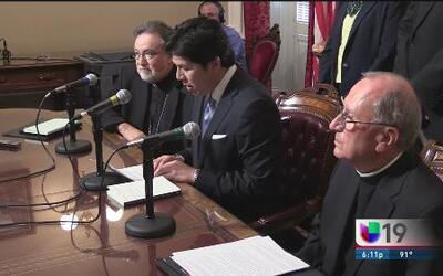 Obispos apoyan leyes para combatir el cambio climático