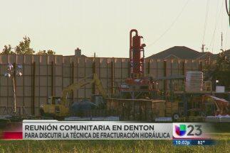 En Denton, los residentes votaron para detener las perforaciones, pero a...