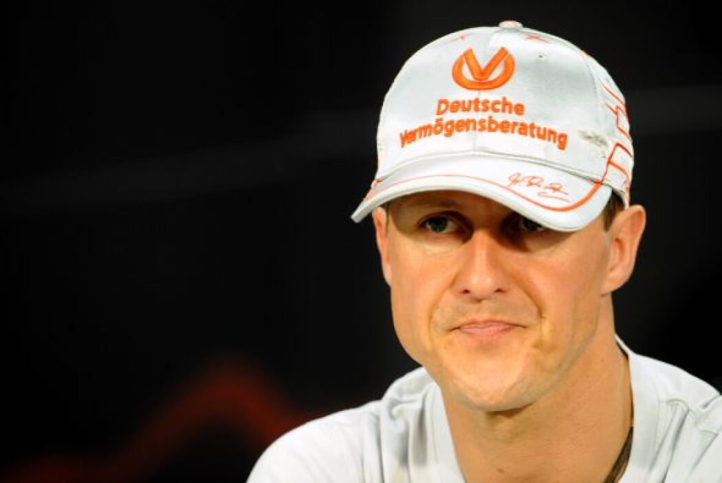 9. MICHAEL SCHUMACHER- La carrera de este deportista es respaldada por i...