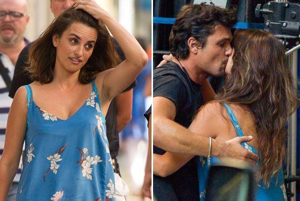 ¿La actriz española se consiguió un nuevo romance durante las grabacione...