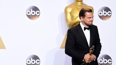 Leonardo Di Caprio pide votar por líderes que crean en el cambio climático