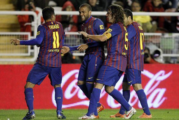 Thiago puso el 5-0, ya una goleada como las que este equipo acostumbraba...