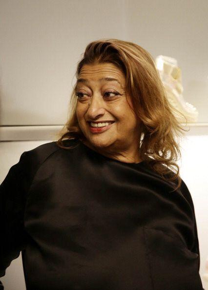 Desde el mundo de la arquitectura, Zaha Hadid también colaboró.