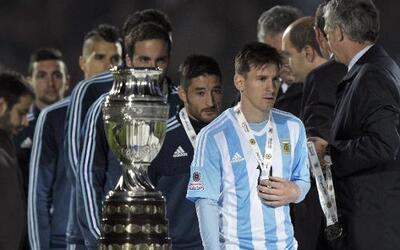 Argentina, subcampeón de Copa América