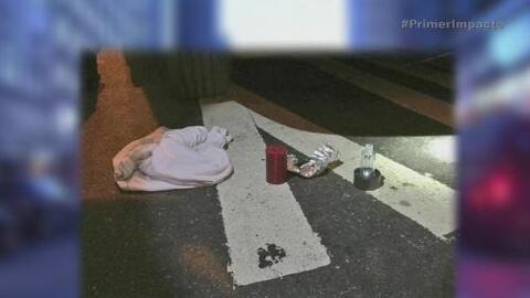 Hombre amenazó con bomba falsa a vehículo policial en Nueva York