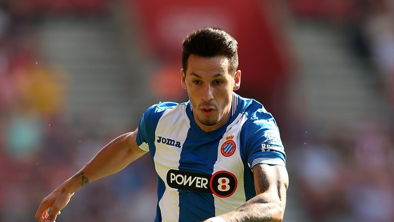 Hernán Pérez anotó los dos goles de Espanyol ante Málaga