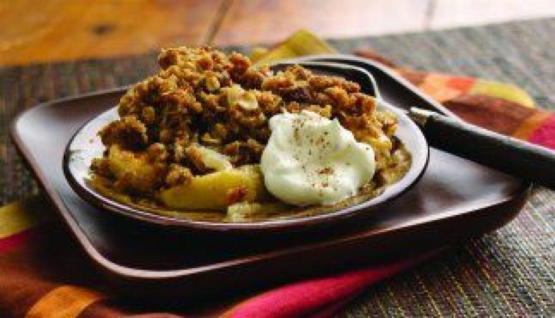 Crujiente de manzana - Una variante muy interesante y sabrosa de la tart...