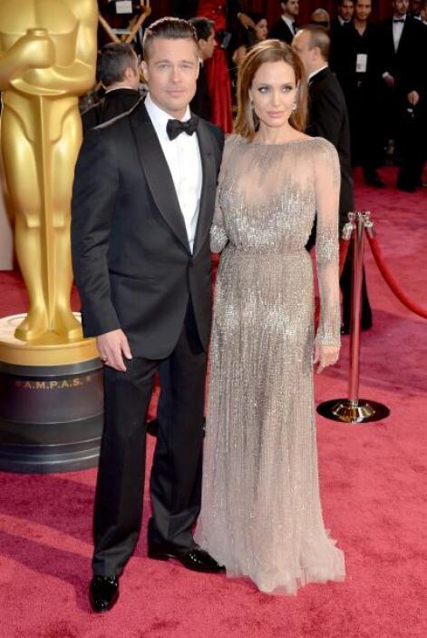 Los años han hecho que Brad Pitt se ponga mucho mejor. Es de esos hombre...