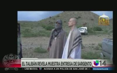 El Talibán muestra entrega de sargento