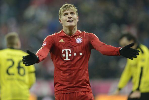 Dos bajas importantes para el Bayern fueron MAndzukic y Toni Kroos. Pare...