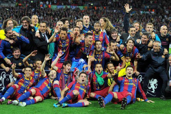 En 2011, Barcelona se volvió a proclamar campeón al derrot...