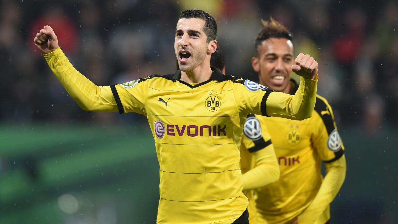 Borussia Dortmund avanzó en Copa alemana