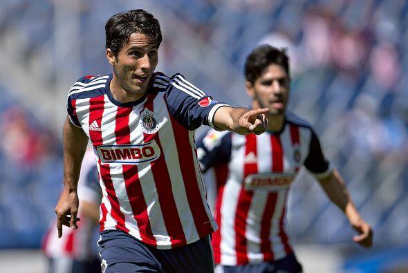 Aldo de Nigris y su hambre de gol. El delantero regiomontano se reencont...