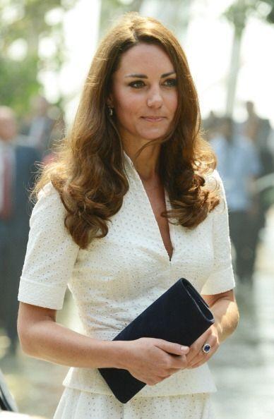 Las carteras largas son otras favoritas de Kate Middleton, pues las tien...