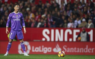 Cristiano Ronaldo, el gran verdugo del Málaga