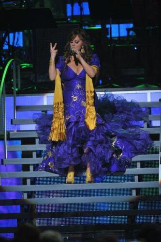 Una vez más la 'Diva de la Banda' demostró porque es una de las mejores...