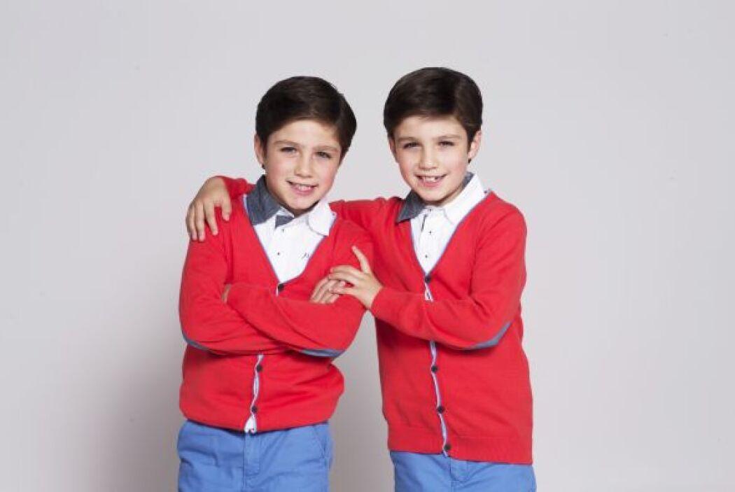 Los gemelos Guille y Alex son la travesura andando y un dolor de cabeza...