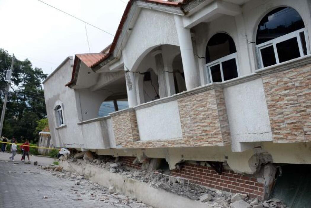 Esta mañana un sismo sacudió el estado mexicano de Chiapas y también cau...