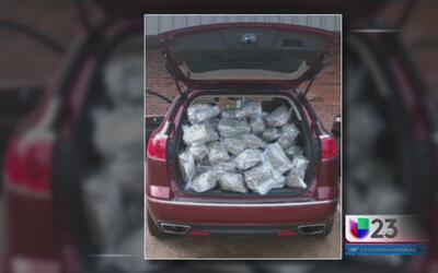 Autoridades decomisan más de 50 libras de marihuana