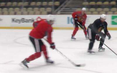 'Chicago en un Minuto': Chicago Blackhawks regresa a la practica este mi...