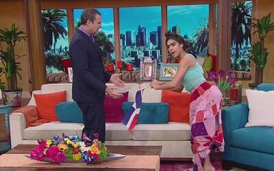"""¿A qué se refiere? Mela movió """"la chapa"""" al estilo de Jennifer Lopez"""