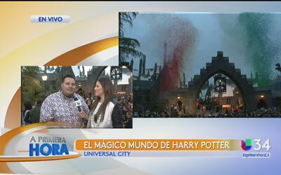 El mágico mundo Harry Potter hizo su debut en Los Ángeles