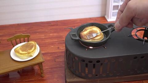 El efecto hipnótico de la cocina en miniatura (y sí, también es un inven...