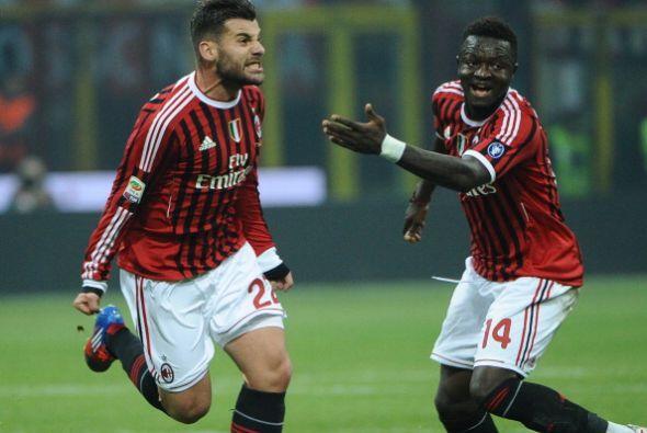 Era el 1 a 0 para el Milan, más puntero que nunca.
