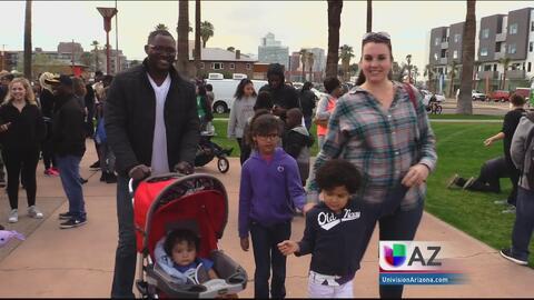 Conmemoran legado de Martin Luther King Jr. en Phoenix