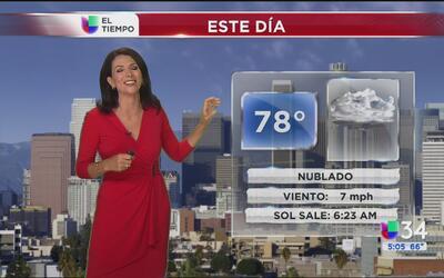 Se prevé un viernes nublado para Los Ángeles