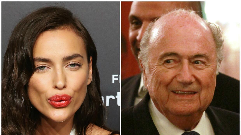 Blatter habría mantenido una relación con Irina