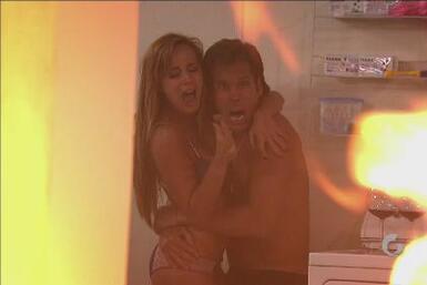 Kristel y Mauricio arden ¡pero NO en la llama de la pasión!