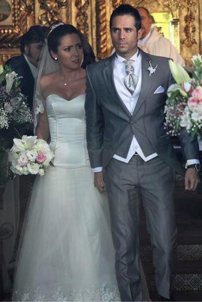 """Luego se casó con José Ron en """"La Mujer Del Vendaval""""."""