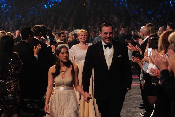 Y es que, mientras las estrellas interpretaban la canción 'Same Love' en...