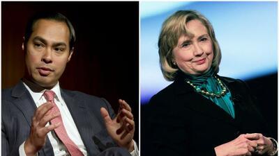 Julián Castro respaldó la posible candidatura de Hillary Clinton a la pr...