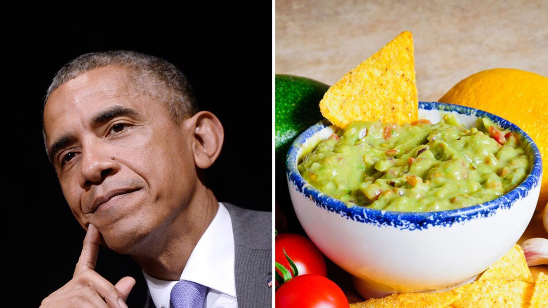 Obama defiende al guacamole