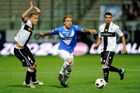 Parma y Brescia se vieron las caras en busca de la victoria.