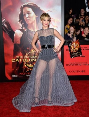 Jennifer Lawrence ha estado promocionando la segunda parte de 'The Hunge...