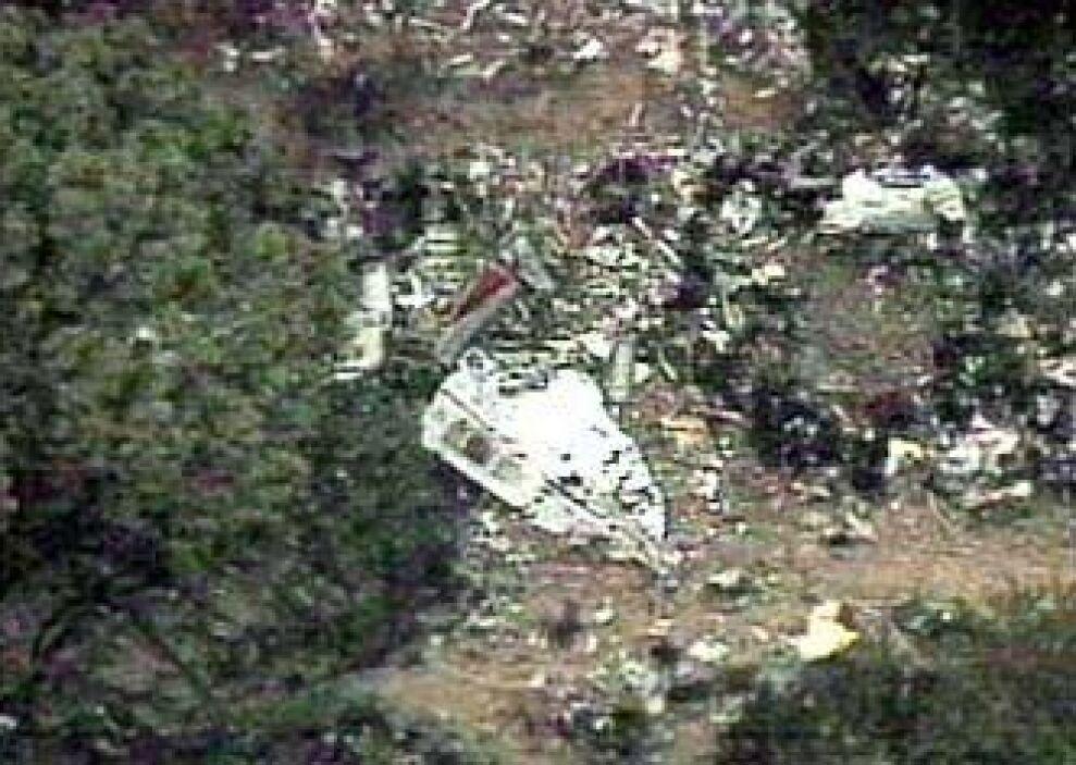 FUERTE TURBULENCIA - El vuelo 427 de USAir, que iba de Chicago a Pittsbu...