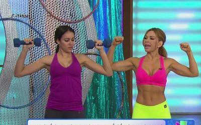 Ejercítate según tu tipo de cuerpo junto a Claudia Molina