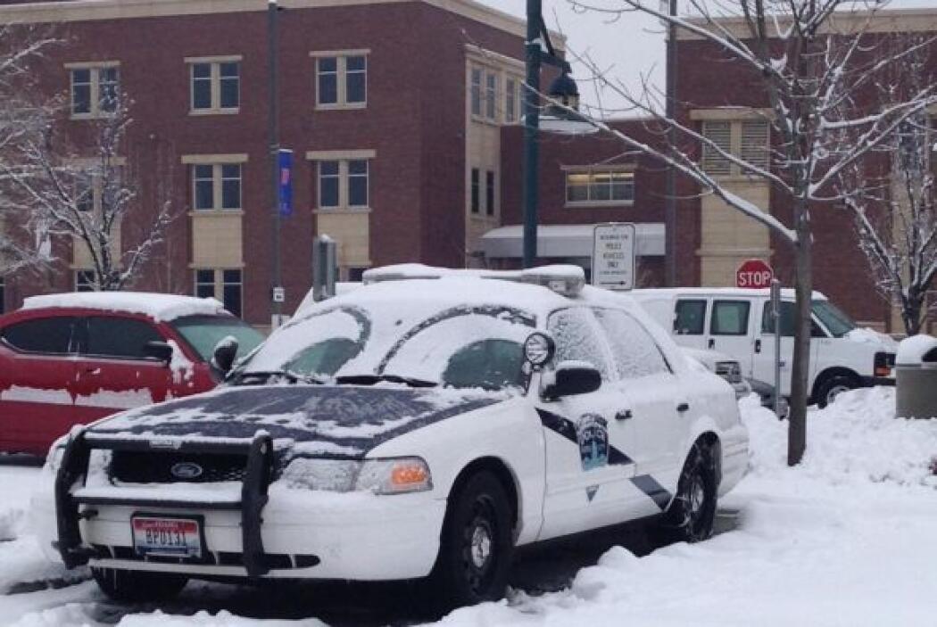 La policía de Boise Idaho compartió la foto de su patrulla con sus usuar...