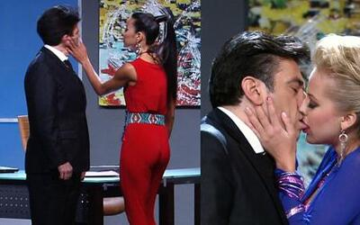 Shalimar Rivera e Ivanna Rodríguez se comieron a besos a Jorge Salinas