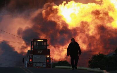 Una explosión de un gasoducto en 2010, que generó un gran...