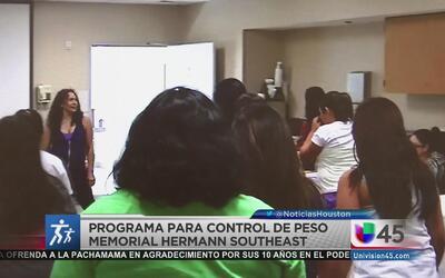 Programa enseña a jóvenes a controlar su peso