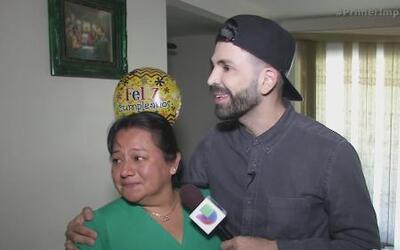 """Joven sorprende a su mamá con el regalo de """"Jomari Love"""""""