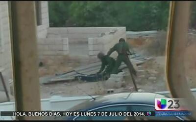 Policías de Jerusalén golpearon a un niño de la Florida